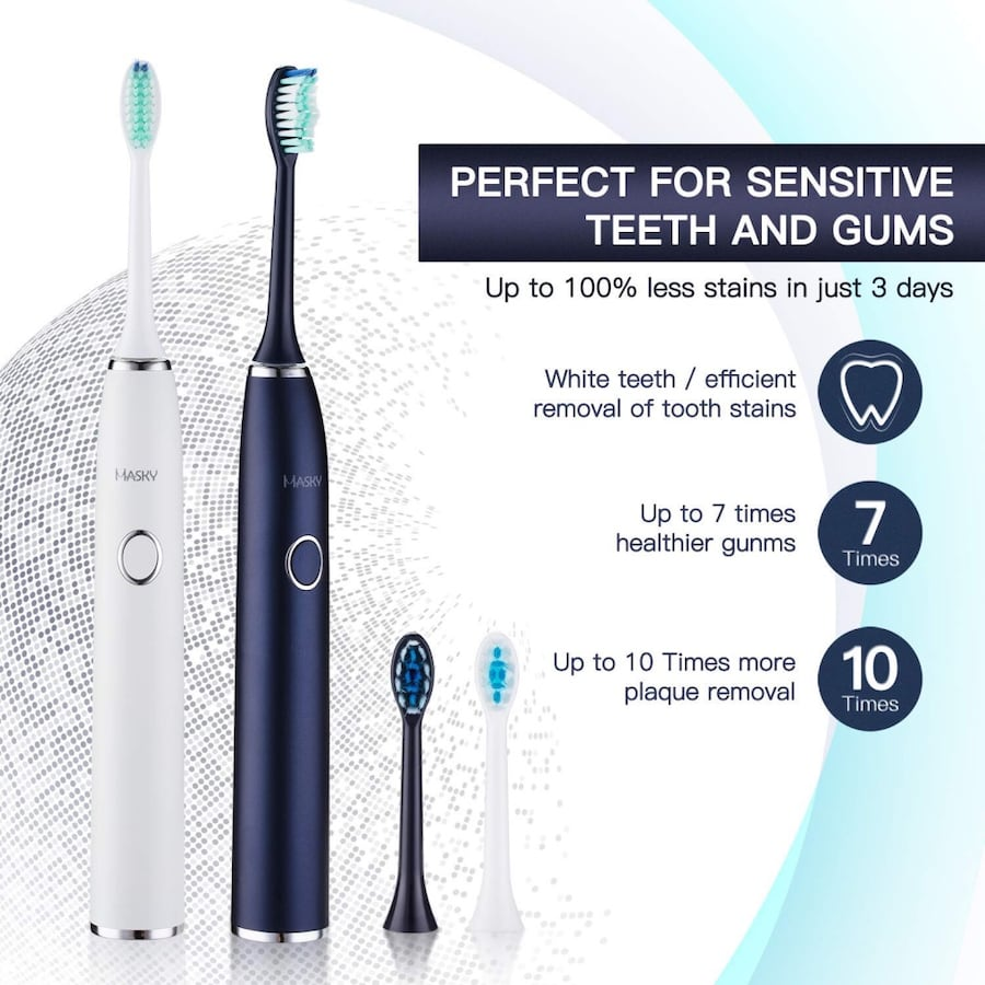 new Electric toothbrush USB rechargeable 833d0231-4ba0-4730-a628-ecc3ae185e17