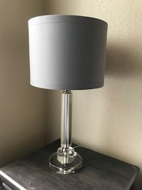 Clear acrylic base lamps with grey shades Tempe, 85283
