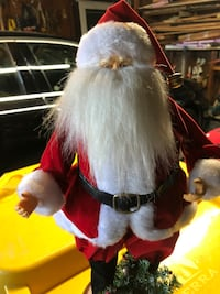 "17"" Tall Santa Claus Decoration."