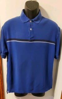 John Ashford Blue Collared Short Sleeved Shirt Middletown, 21769