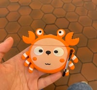 AirPods with cute crab case Arlington, 22202