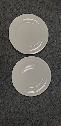 Two White Plates BOWIE