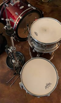 Pearl Soundcheck - Drum Set w/ cymbals