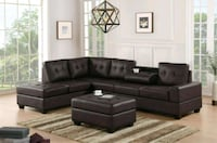 Brand new Sectional with ottoman  1211 mi