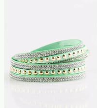 green and white beaded bracelet Tuscaloosa, 35405