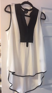 white and black long-sleeved dress Brampton, L6R