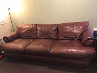 Leather Sofa - Large Palmerton, 18071