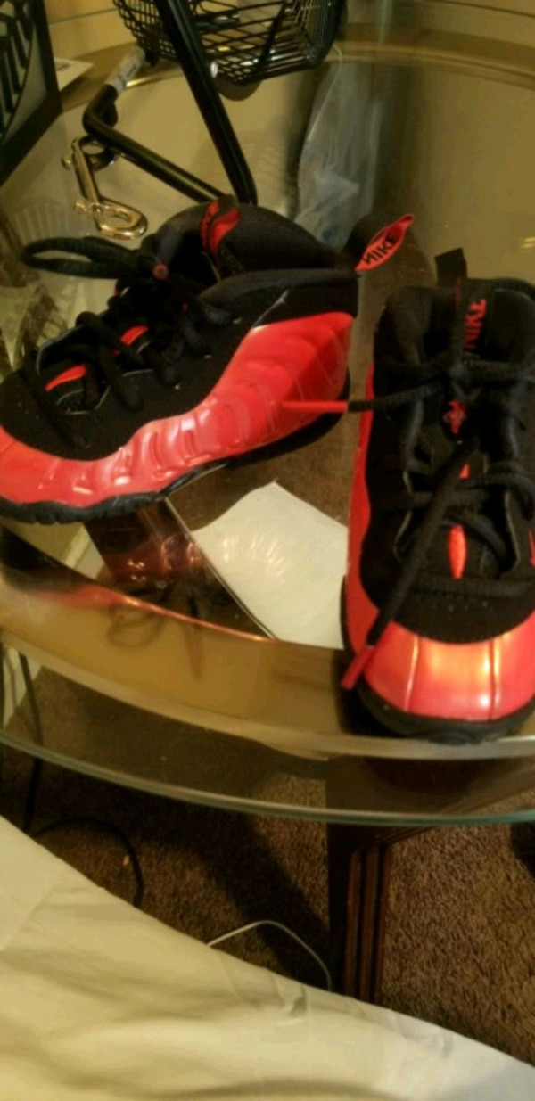newest 44bb2 4bf8a Nike Air Foamposite, One Habanero Red