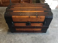 Antique Trunk from the late 1879-1881. 88 km