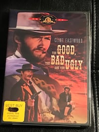 Clint Eastwood The Good, The Bad and the Ugly (Still factory sealed). Sterling, 20164