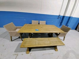 New Portsmouth 6 piece dining/patio set