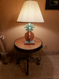 Table and lamp combo Edinburg, 78539