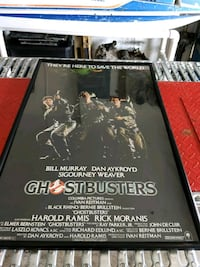 Ghostbusters movie poster framed original 1984  Cape Coral, 33909