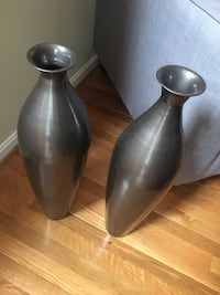 Two stainless steel Vases  Mount Airy, 21771