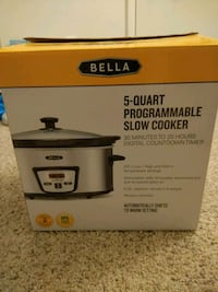 Bella Bella slow cooker box Manassas, 20109