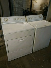 Heavy duty washer electric dryer installed Detroit, 48235
