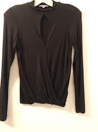 Woman's top black