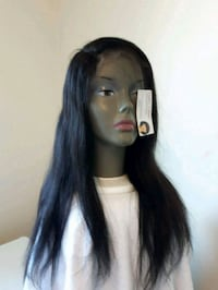 "18"" BRAZILIAN STRAIGHT FRONTAL LACE WIG  Fort McMurray, T9H 4K1"