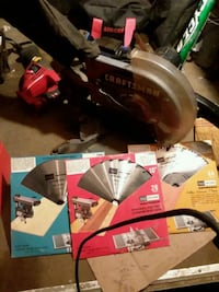 Miter saw with 3 new bladed Akron, 44314