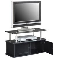 "Designs2Go"" TV Stand with Two Cabinets, for TVs up to 36"", Black, SKU # 40-045 2263 mi"