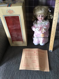 Century Collection Porcelain Doll  Barrie, L4N 7N1