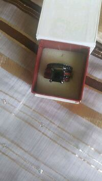 silver and diamond ring with box Chestermere, T1X 1S5