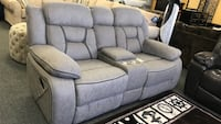 2018 Collection Super soft material Reclining motion sofa or loveseat Livingroom