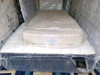 white single mattress.delivery 30 Edmonton, T5B 1L1