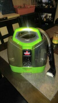 green and black Bissell upright apolster cleaner Halifax