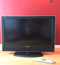 Flat screen TV fully functional Sony