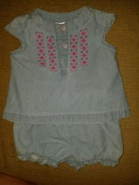 2 piece baby girl shorts outfit  Clear Brook, 22624