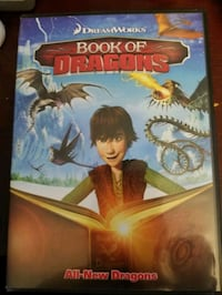 BOOK OF DRAGONS DVD **LIKE NEW**