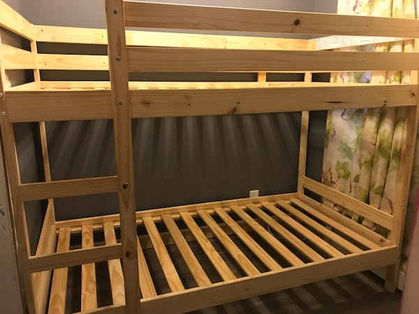 Sold Ikea Mydal Bunk Bed Frame In Perth