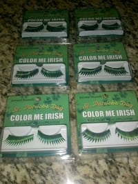 St.Patricks Day Eyelash Spring, 77373
