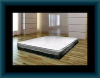 Singlesided pillowtop mattress with box spring Washington, 20018