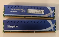 Kingston Hyperx Genesis DDR3 ram 8GB (2x4GB) Toronto