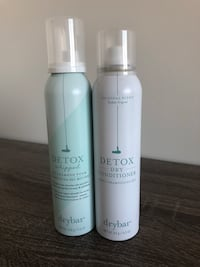 Drybar Detox Whipped Dry Shampoo and Dry Conditioner Vancouver, V6B 0L2