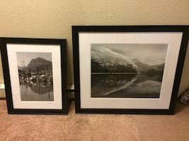 Alaska pictures with frame
