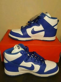 NIKE DUNK RETRO QS Hi KENTUCKY WILDCATS Royal Blue