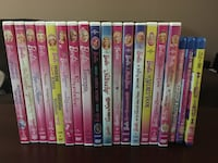 16 Barbie DVD / 3 Barbie blue ray and 1 monster high DVD-$15 for the lot Brampton, L6V