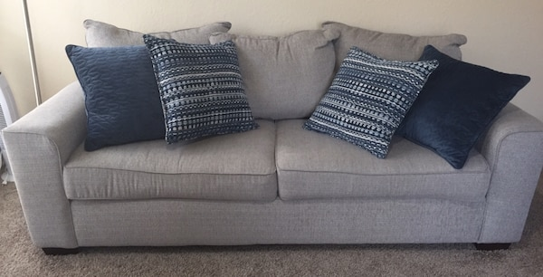Lane Dharma Cloud Living Room Collection Sofa and Loveseat