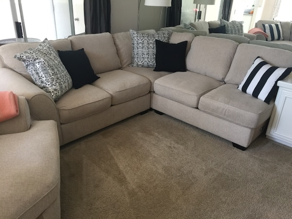 Used Ashley Furniture Wilcot Sectional For Sale In San Diego Letgo