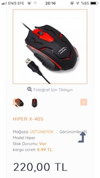 Hiper x-40 s mouse