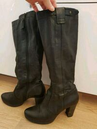 Leather boots Bergen