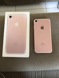 Rose gold iphone 7 with box Granger, 46530