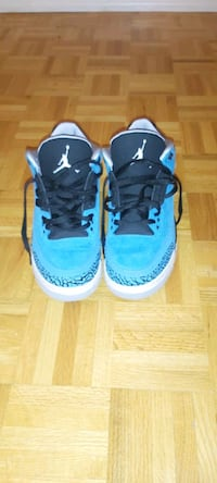 AIR JORDAN 3 POWDER BLUE SZ 9.5 (7.5/10 condition)