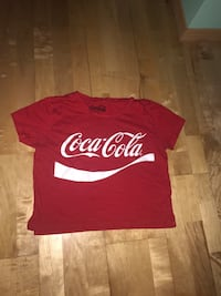 Coca-Cola cropped shirt (negotiable ) Calgary, T3K 5V8