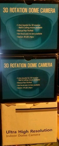 3D rotation dome camera  Queens