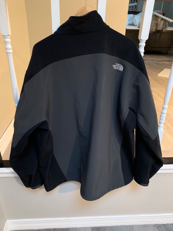 Men's North Face Jacket in Black and Grey - 3XL Jacket afc7a30b-ea18-4dbf-8a11-311037cae420