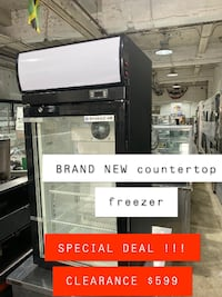 BEVERAGE-AIR COUNTERTOP FREEZER